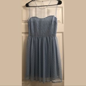 Size 5 Baby blue dress - semi formal